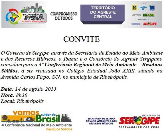 Convite Agreste Central