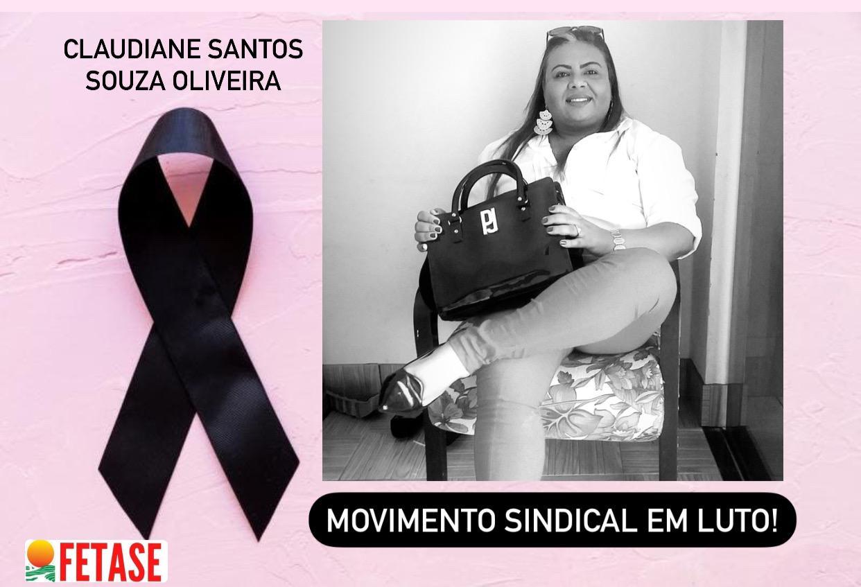 Nota de Pesar – Claudiane Santos Souza Oliveira (Preta )